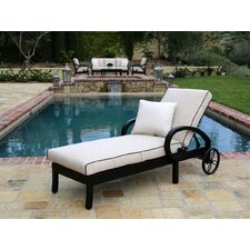 Monterey Chaise Lounge with Self Welt Cushion