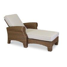Santa Cruz Adjustable Chaise Lounge with Self Welt Cushions