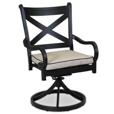 Monterey Swivel Dining Chair with Cushion