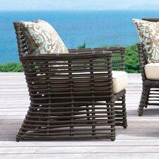 Venice Club Chair with Self Welt Cushion