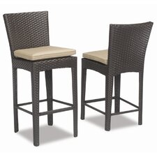 "Malibu 26"" Bar Stool with Cushion"