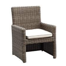 Coronado Dining Arm Chair with Cushion
