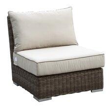 Coronado Armless Club Chair with Cushions