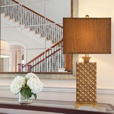 """33.5"""" H Table Lamp with Rectangular Shade"""