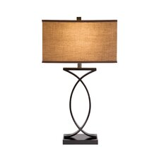 """28"""" H Table Lamp with Square Shade"""