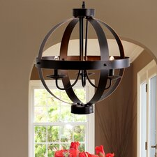 3 Light Candle Chandelier