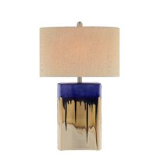 """27"""" H Table Lamp with Oval Shade"""