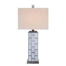 """31"""" H Table Lamp with Square Shade"""