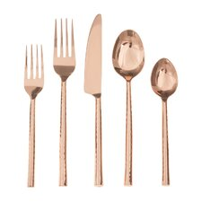 20 Piece Quarry Flatware Set
