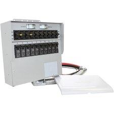 Pro/Tran 30-Amp 10-Circuit 2 Manual Transfer Switch