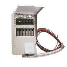 Pro/Tran 30-Amp 6-Circuit 2 Manual Transfer Switch
