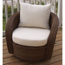 Carmel Swivel Deep Seating Chair with Cushion