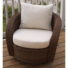 Carmel Swivel Deep Seating Chair with Cushion