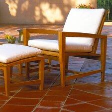 Amalfi Lounge Chair and Ottoman with Cushions
