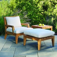 Mendocino Deep Seating Lounge Chair with Cushion