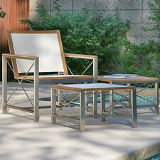 Ibiza Club Chair with Ottoman