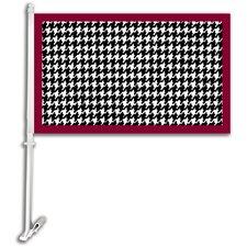NCAA Car Flag with Wall Bracket