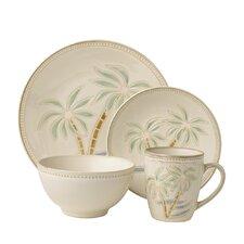Palm Everyday 16 Piece Dinnerware Set