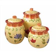 Napoli 3-Piece Jar Set