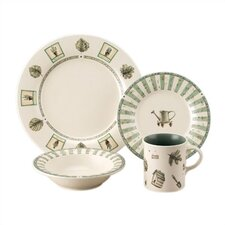 Naturewood 16 Piece Dinnerware Set