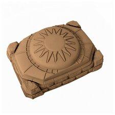 Naturally Playful 4' Rectangular Sandbox with Cover