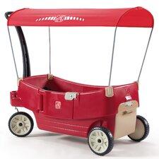 All Around Canopy Wagon Ride-On