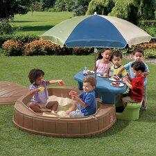 Naturally Playful Summertime Play Center 57 Ft. W Octagon Sandbox