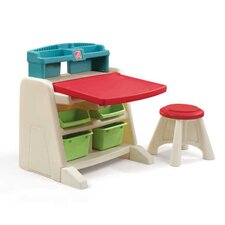 Flip and Doodle Easel Desk with Stool