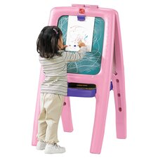 Marker Tray Folding Magnetic Board Easel