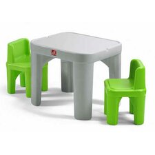 Mighty My Size Kids 3 piece Table & Chairs Set