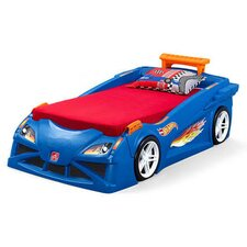 Hot Wheels™ Race Twin Car Bed