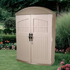 LifeScapes 4 Ft. W x 2 Ft. D Highboy Plastic Tool Shed