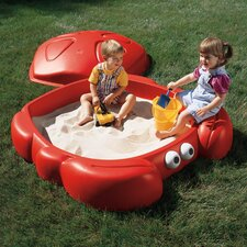 Crabbie 4' Rectangular Sandbox with Cover