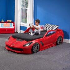 Corvette Twin Convertible Toddler Car Bed