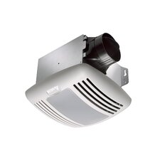 BreezGreenBuilder 50 CFM Energy Star Bathroom Fan with Light