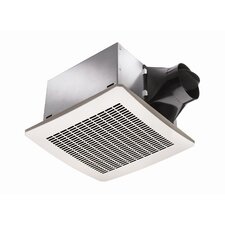 80 CFM Energy Star Exhaust Bathroom Fan with Humidity Sensor