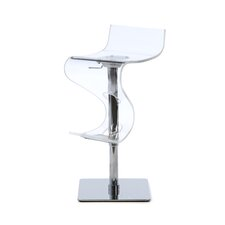 Curve Adjustable Swivel Bar Stool