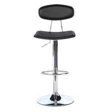 Vector Adjustable Height Swivel Bar Stool with Cushion