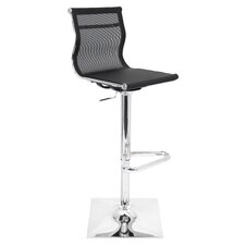Mirage Adjustable Height Swivel Bar Stool