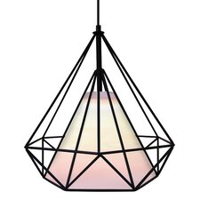 Hedron 1 Light Mini Pendant