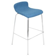 "Stacker 30"" Bar Stool with Cushion"