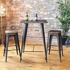 Oregon 3 Piece Pub Table Set