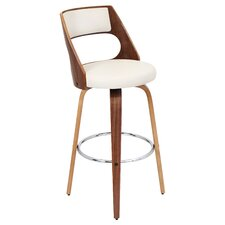 "Cecina 30"" Swivel Bar Stool with Cushion"