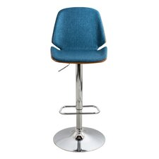 Serena Adjustable Height Swivel Bar Stool