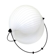 """Shell 15"""" H Table Lamp with Globe Shade"""