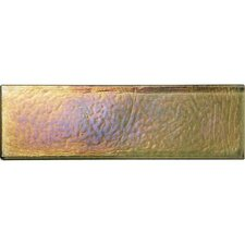 "Glass Horizons 7 3/4"" x 2 1/2"" Mosaic Field Tile in Lagoon"
