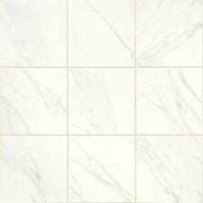 "Florentine 12"" x 12"" Porcelain Glazed Field Tile in Carrara"