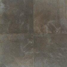 """Concrete 20"""" x 20"""" Porcelain Field Tile in City Elm"""