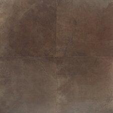 """Concrete 20"""" x 20"""" Porcelain Field Tile in Eastside Brown"""