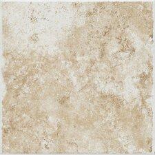 """Fidenza 12"""" x 12"""" Porcelain Field Tile in Bianco"""